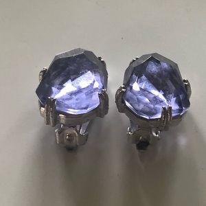 Costume clip on earrings